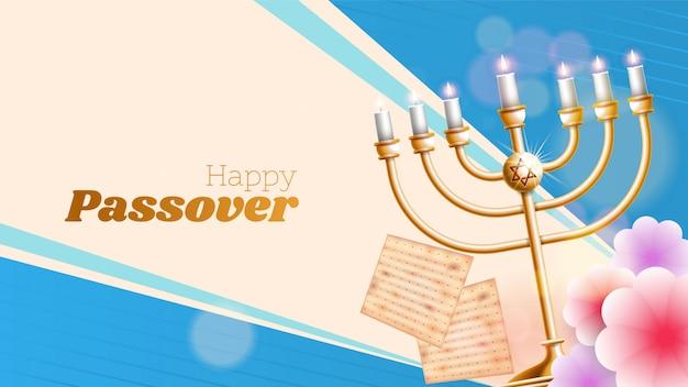 Jüdischer feiertag von pessach pesach Premium Vektoren