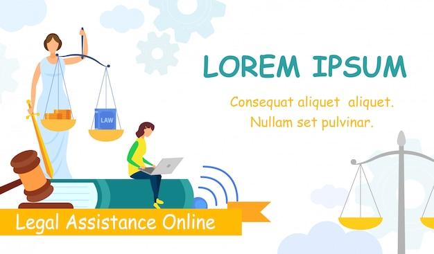 Jurisprudence college web banner vektor vorlage Premium Vektoren