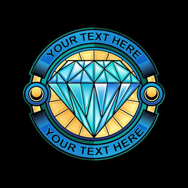 Juwel logo vorlage Premium Vektoren