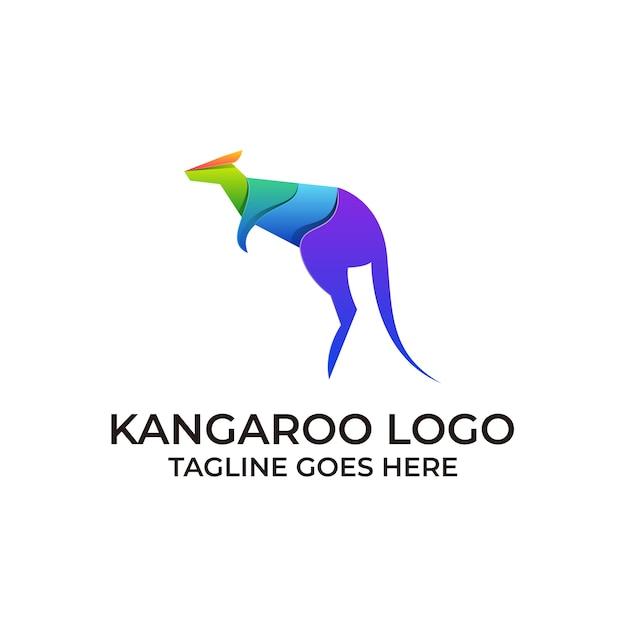 Känguru-vorlage Premium Vektoren