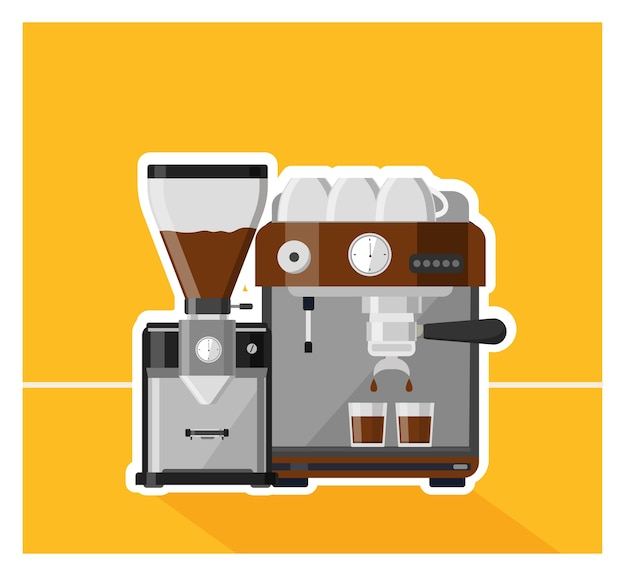 Kaffee, kaffee design illustration Premium Vektoren