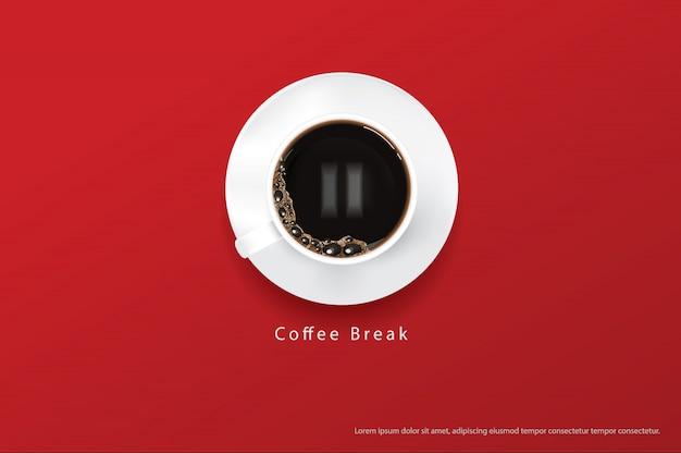 Kaffee-plakat-anzeigen-flayers-vektor-illustration Premium Vektoren