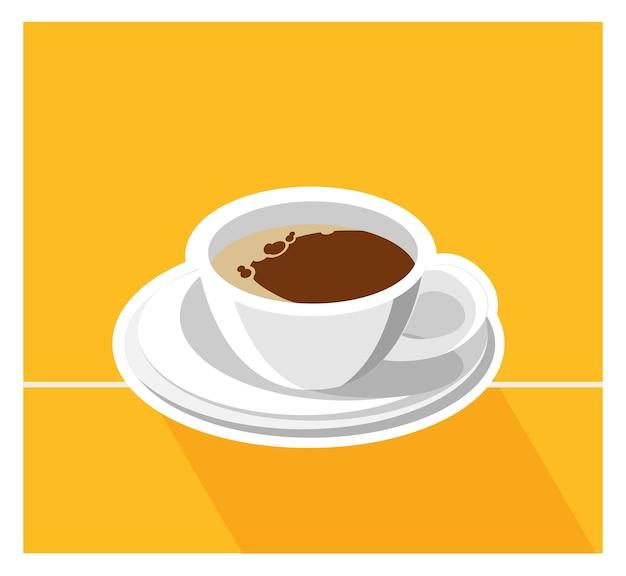 Kaffeeillustration Premium Vektoren