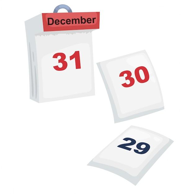 Kalender Premium Vektoren