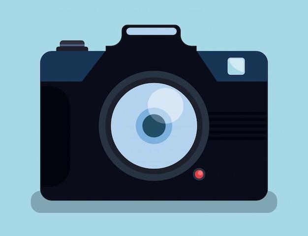 Kamera-design. Premium Vektoren