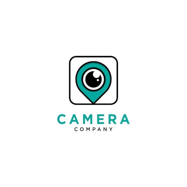 Kamera-logo-vorlage Premium Vektoren