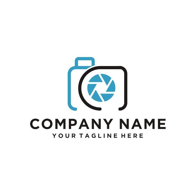 Kamera-logo Premium Vektoren