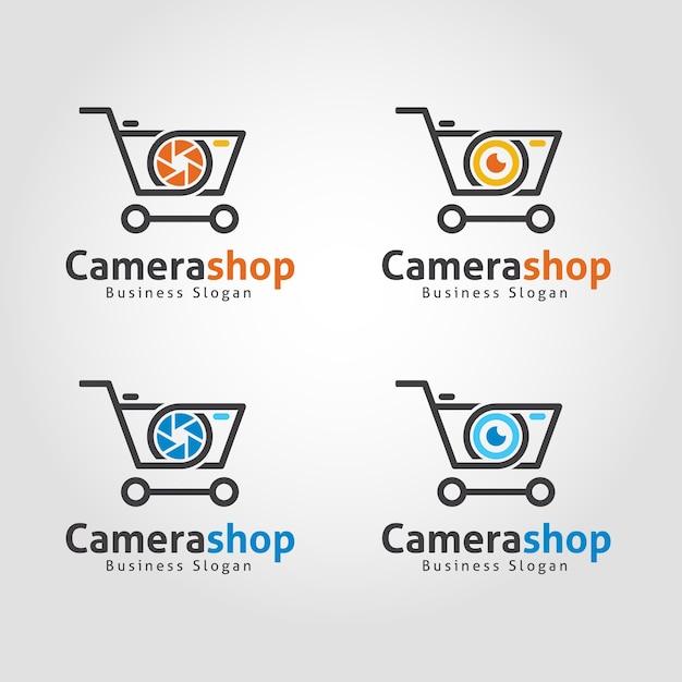 Kamera Shop Logo Vorlage | Download der Premium Vektor