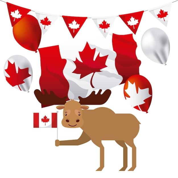 Kanada tag Premium Vektoren