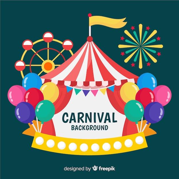 Karneval-hintergrund Kostenlosen Vektoren