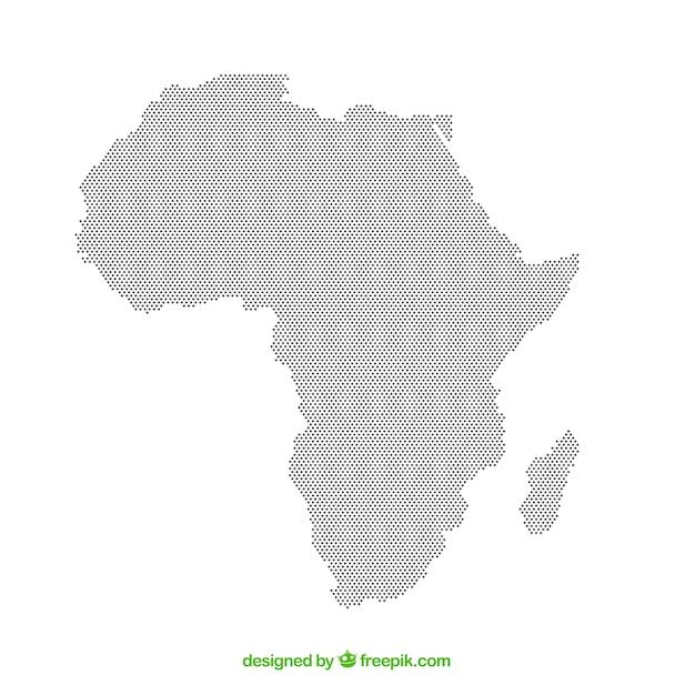 Fantastisch Afrika Färbung Karte Galerie - Beispielzusammenfassung ...