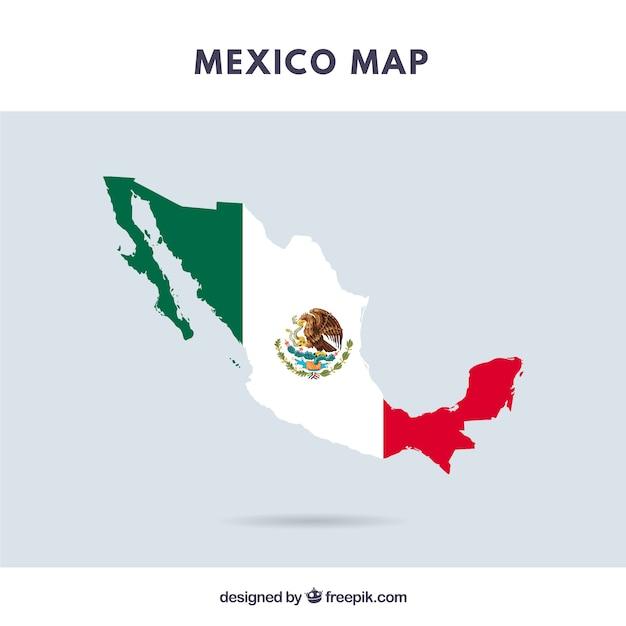 Mexiko Karte Umriss.Karte Von Mexiko Download Der Kostenlosen Vektor