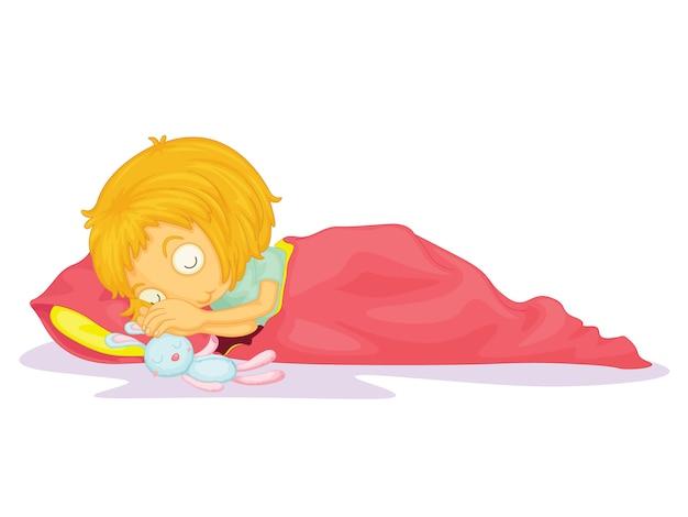 Kinderillustration Kostenlosen Vektoren