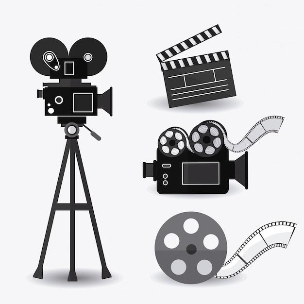 Kino-design. Premium Vektoren