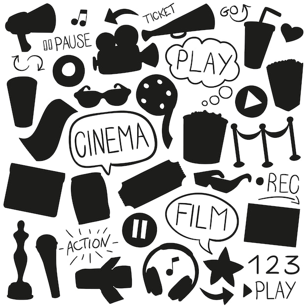 Film logo free vector download (68,658 Free vector) for commercial use.  format: ai, eps, cdr, svg vector illustration graphic art design