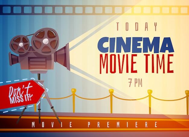 Kino horizontal Kostenlosen Vektoren