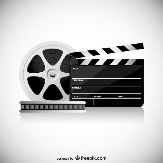Kino konzeptionelle vektor Kostenlosen Vektoren