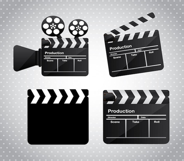 Kinofilm Premium Vektoren