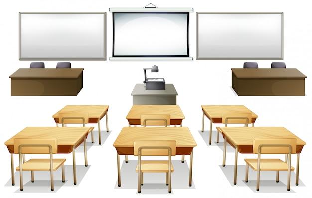 Klassenzimmer Kostenlosen Vektoren