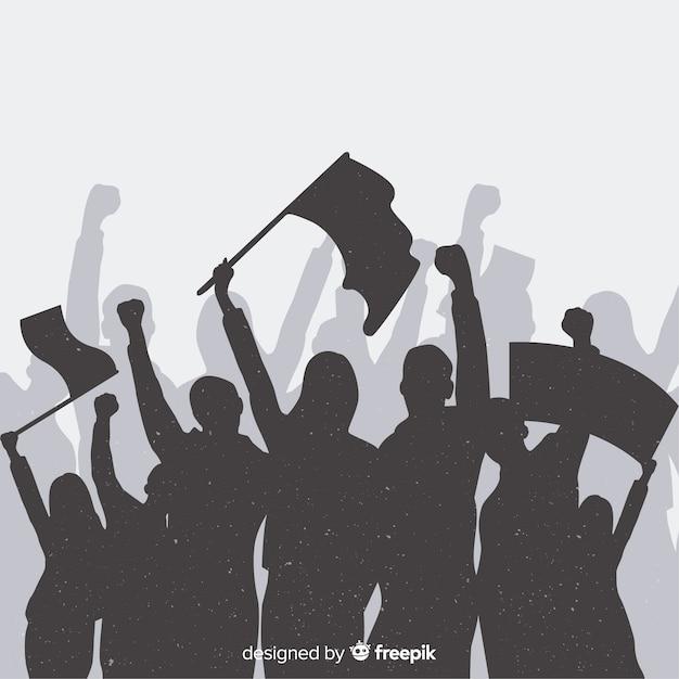 Klassische revolutionskomposition Kostenlosen Vektoren
