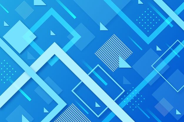 Klassischer blauer hintergrund des abstrakten designs Premium Vektoren