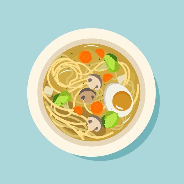 Komfort-food-konzept Kostenlosen Vektoren