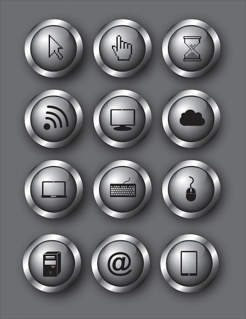 Kommunikation Premium Vektoren