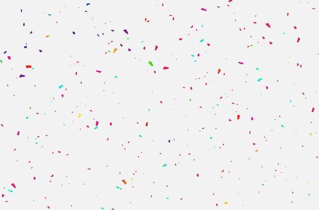 Konfetti feier karneval bänder. Premium Vektoren