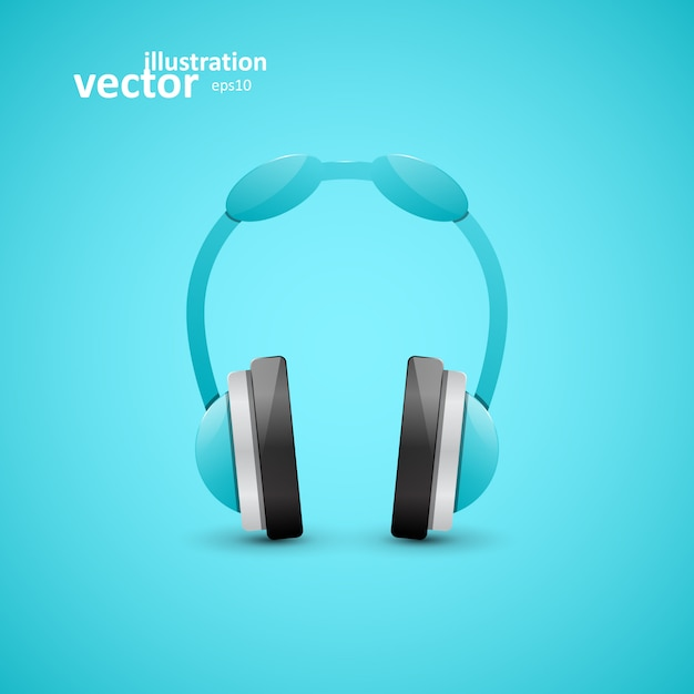 Kopfhörer Premium Vektoren