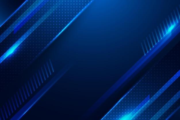 Kopieren sie den abstrakten blauen digitalen hintergrund des raumes abstrakt Kostenlosen Vektoren