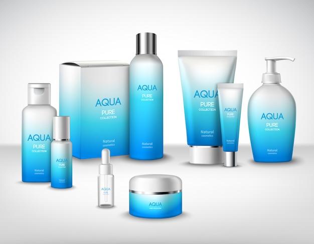 Kosmetik-dekorsatz Kostenlosen Vektoren