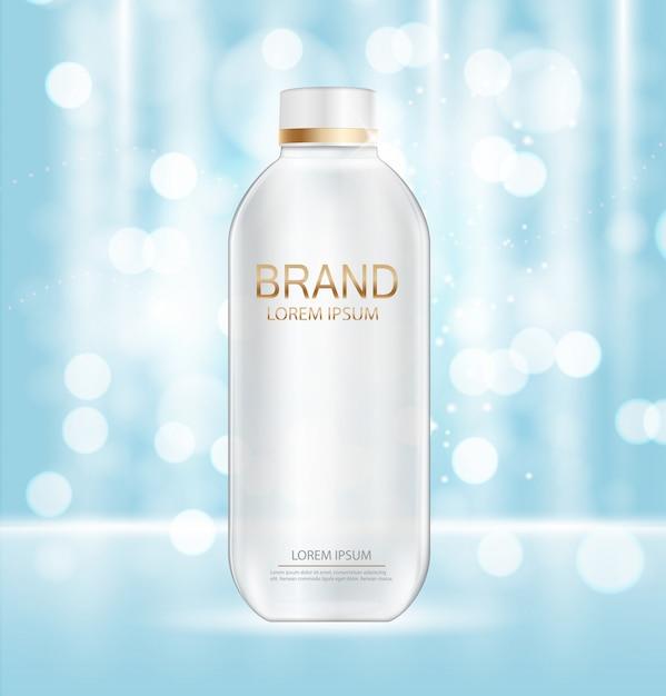 Kosmetik produktvorlage Premium Vektoren