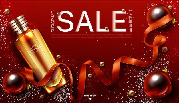 Kosmetikverkaufsbanner Kostenlosen Vektoren