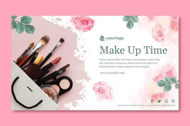 Kosmetische banner vorlage Kostenlosen Vektoren