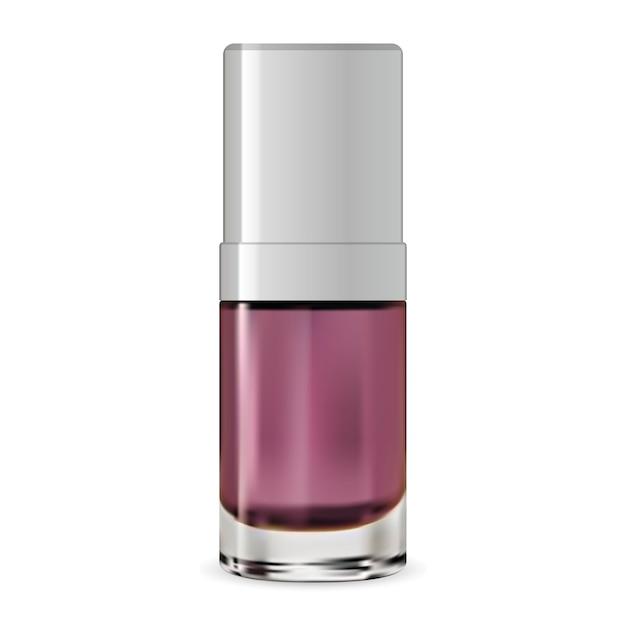 Kosmetischer serumbehälter. vektor-flasche. wesen Premium Vektoren