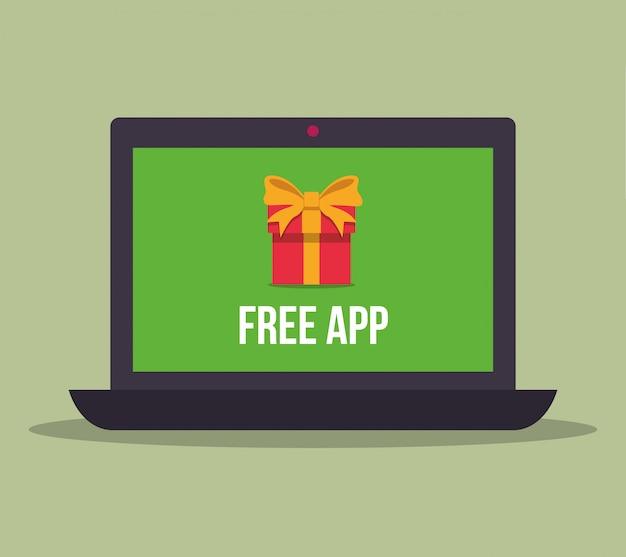 Kostenlose apps design Premium Vektoren