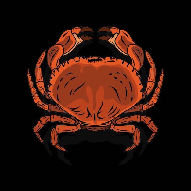 Krabben ziehen Premium Vektoren