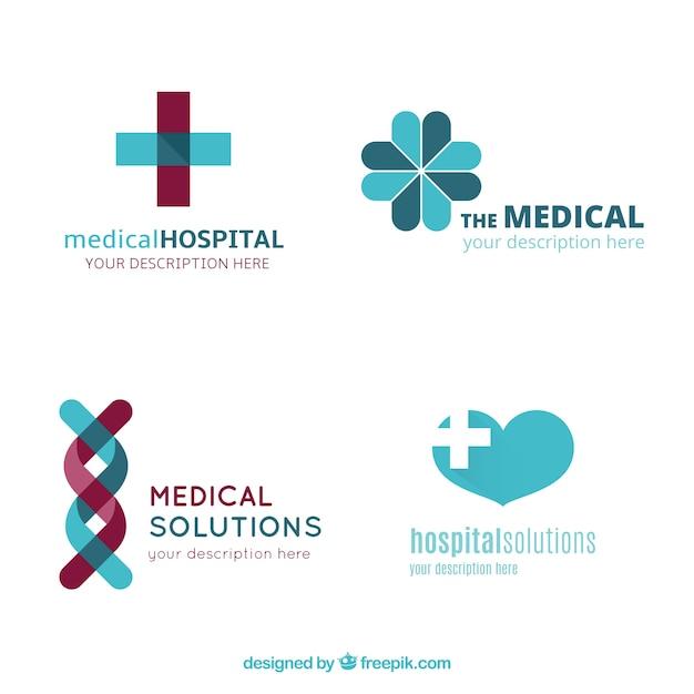 Krankenhaus-Logo-Vorlagen | Download der Premium Vektor