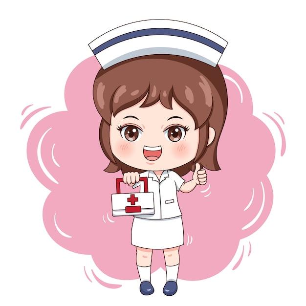 Krankenschwester Premium Vektoren