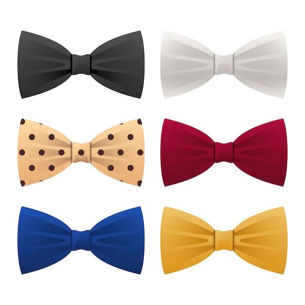 Krawatte Premium Vektoren