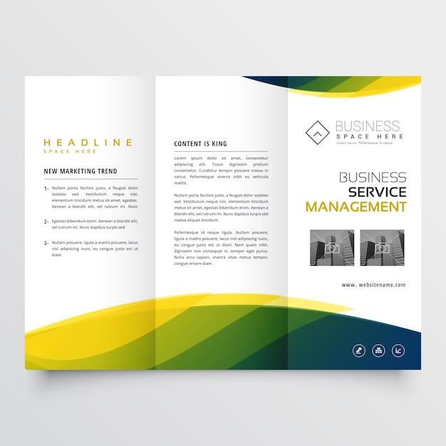 Kreative Broschüre Faltblatt Vorlage Geschäft trifold Design für ...