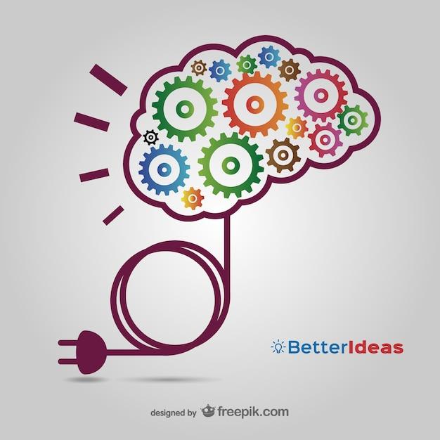 Kreative ideen vektor kostenloser download Kostenlosen Vektoren