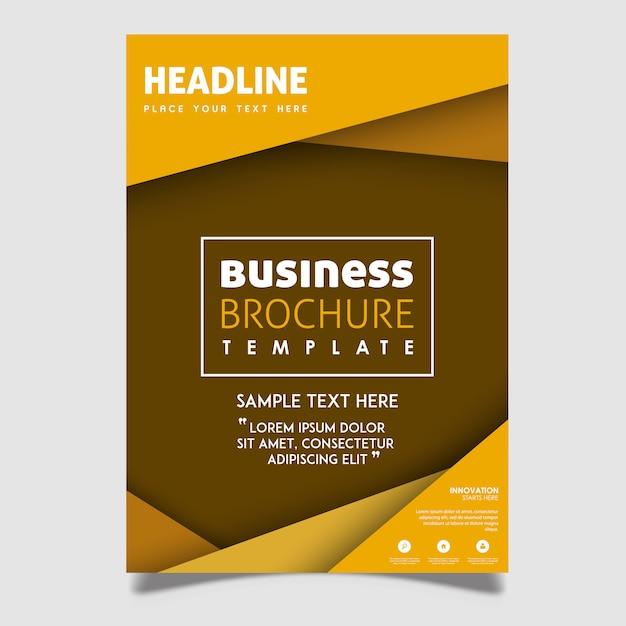 Kreative Vektor-Broschüren-Designs Kostenlose Vektoren