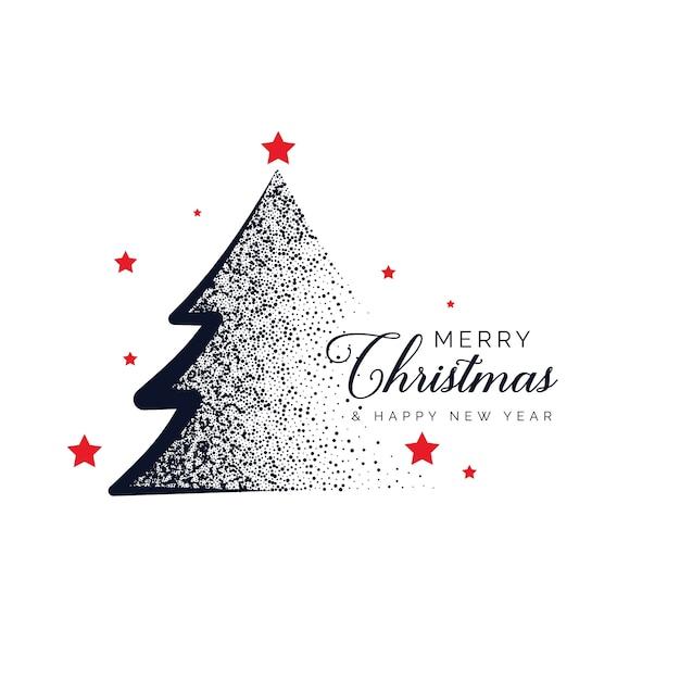 kreative weihnachtsbaum design mit punkten hintergrund. Black Bedroom Furniture Sets. Home Design Ideas
