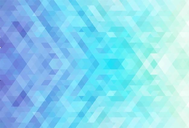 Kreativer hintergrund der abstrakten bunten geometrischen formen Kostenlosen Vektoren