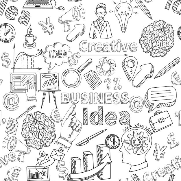Kreativer Hintergrund nahtlos Kostenlose Vektoren