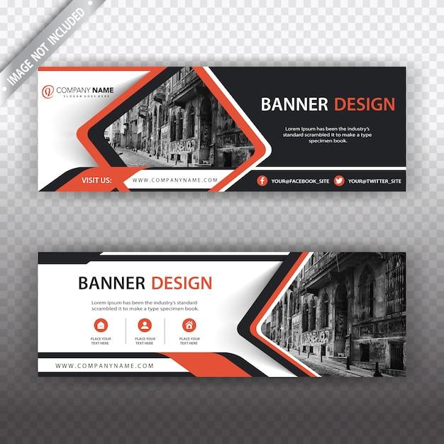 Kreatives bannerdesign Kostenlosen Vektoren