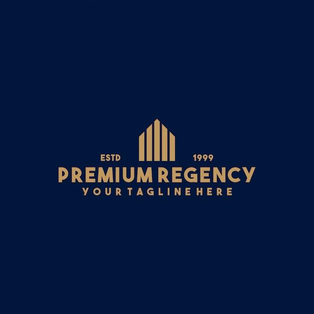 Kreatives immobilien-logo-design Premium Vektoren