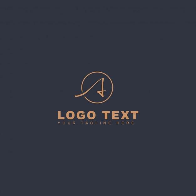 Kreatives Letter Ein Logo Kostenlose Vektoren