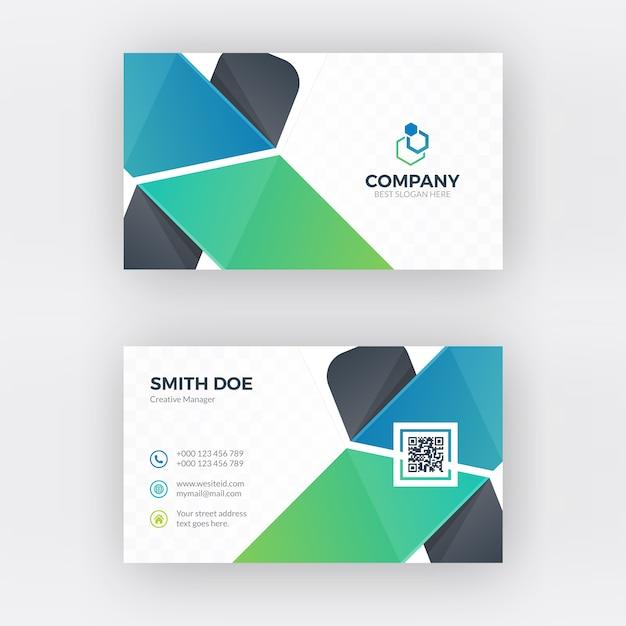 Kreatives Visitenkarten Design Download Der Premium Vektor
